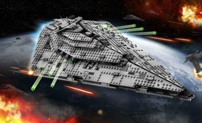 Alle Infos und Bilder zum LEGO Star Wars 75190 First Order Star Destroyer