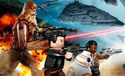"""Erste Review-Videos zu einigen LEGO Star Wars """"The Last Jedi"""" Sets"""