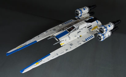 Review-Video zum LEGO Star Wars UCS U-Wing Fighter MOC