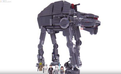 Weitere Review-Videos zu neuen LEGO The Last Jedi Sets!