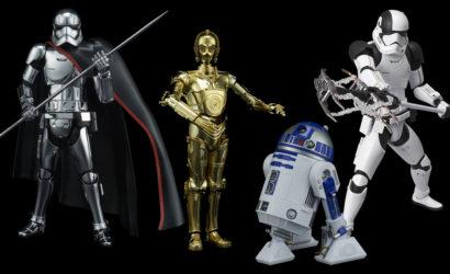 Drei neue Bandai Star Wars Charaktere im Maßstab 1:12