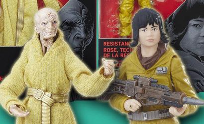 Black Series Supreme Leader Snoke & Rose 6 inch Figuren aufgetaucht