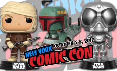 Das sind die Funko POP! Star Wars NYCC 2017 Exclusives