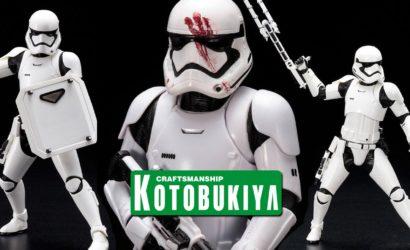 Neue Kotobukiya First Order Stormtrooper FN-2199 ArtFX+ Figur