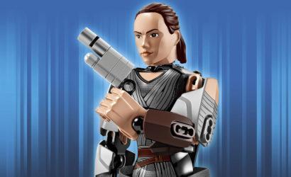 Alle Infos und Bilder zur LEGO Star Wars 75528 Rey Buildable Figure