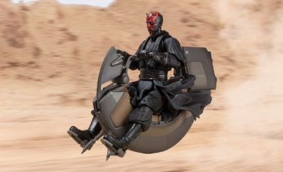 Neuer S.H.Figuarts Darth Maul's Sith Speeder vorgestellt