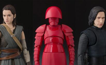 Alle neuen S.H.Figuarts Star Wars The Last Jedi Figuren auf einen Blick