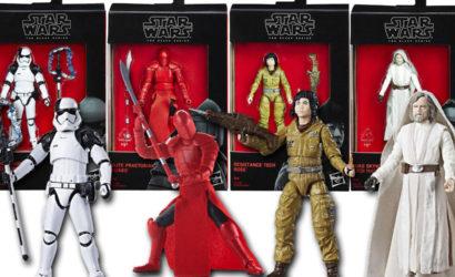 Pressebilder zur den The Last Jedi 3.75 inch Black Series Walmart Exclusive Figuren