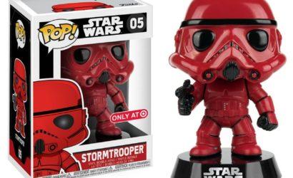 Funko POP! Red Stormtrooper nun bei Target verfügbar