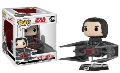 Funko POP! Deluxe Kylo Ren with TIE Fighter präsentiert