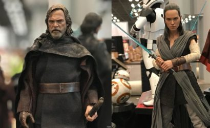 Hot Toys Rey und Luke Skywalker 1/6 Scale Figuren zu The Last Jedi vorgestellt