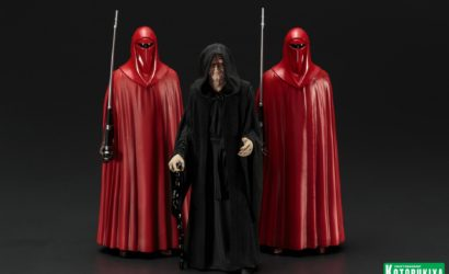 Alle Infos zum Kotobukiya Emperor Palpatine & Royal Guards 3-Pack