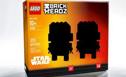 Erster Blick auf neues NYCC 2017 LEGO Star Wars Brickheadz Set