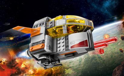 Alle Infos und Bilder zum LEGO Star Wars 75176 Resistance Transport Pod