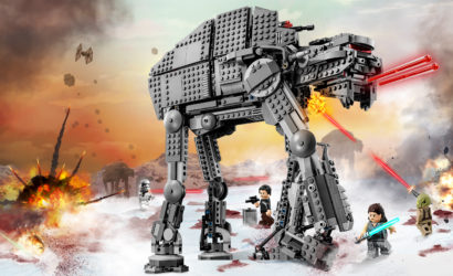 Alle Infos und Bilder zum LEGO Star Wars 75189 First Order Heavy Assault Walker