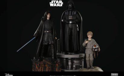 Alle Informationen zum neuen XM Studios Darth Vader Trio Set