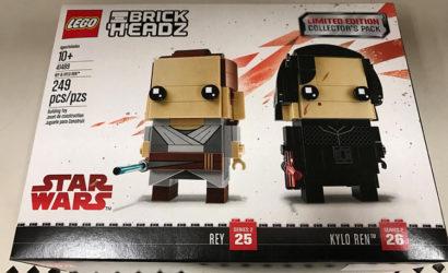 LEGO Star Wars Brickheadz Collector's Pack 41489 – Rey & Kylo Ren