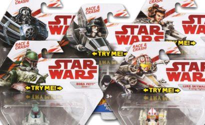 Neue Serie: Hot Wheels Star Wars Battle Rollers