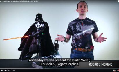 Review-Video zur Iron Studios Darth Vader Legacy Replica