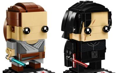 LEGO 41489 Rey & Kylo Ren Brickheadz Collector's Pack nun offiziell