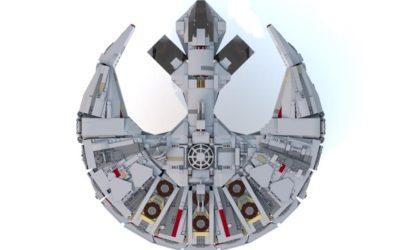 Beeindruckender Corellianischer Frachter ist LEGO Rebrick Gewinner
