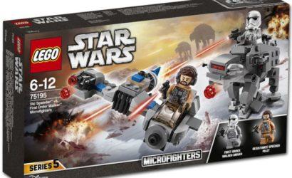 Neue Bilder und alle Details zu den LEGO Star Wars Microfighters 2018