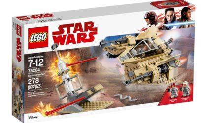 Offizielle Bilder zum neuen LEGO Star Wars 75204 Sandspeeder