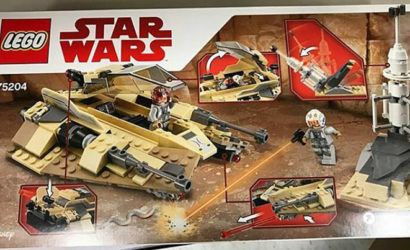 Neuer LEGO Star Wars 75204 Sandspeeder aufgetaucht!