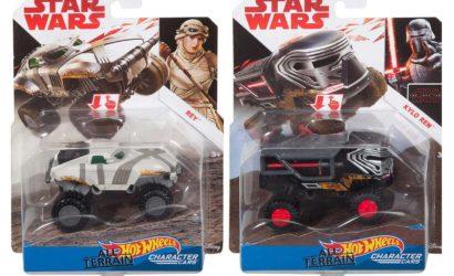 "Zwei bisher unbekannte Hot Wheels ""All Terrain"" Character Cars"