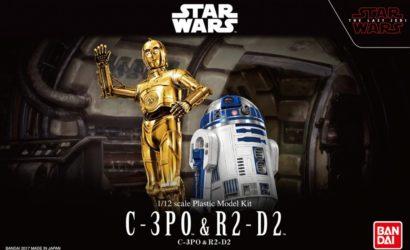 Neue Detailbilder zu den kommenden Bandai Star Wars Character Model-Kits