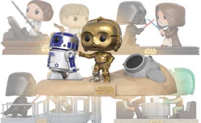 Hochauflösende Bilder zu den neuen Funko POP! Star Wars Movie Moments Sets