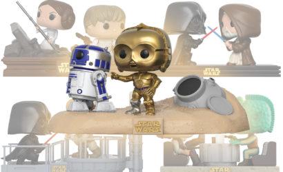 Hochauflösende Bilder zu den neuen Funko POP! Star Wars Movie Moments Sets