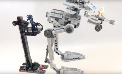 Erstes Review-Video zum LEGO Star Wars 75201 First Order AT-ST!