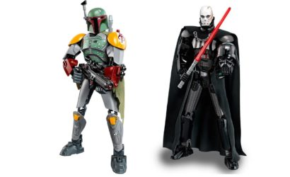 Beschreibungen und neue Bilder der LEGO Star Wars Buildable Figures 75533 & 75534