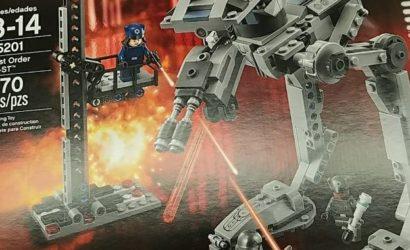 Erster Blick auf den LEGO Star Wars 75201 First Order AT-ST