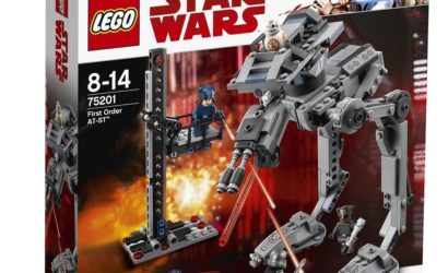 Offizielle Bilder zum LEGO Star Wars 75201 First Order AT-ST