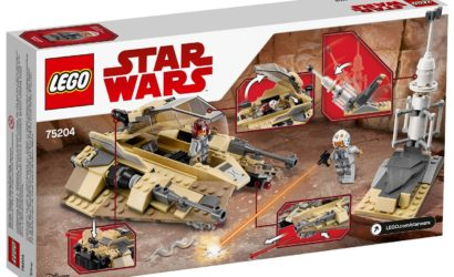 Erstes Review-Video zum neuen LEGO Star Wars 75204 Sandspeeder