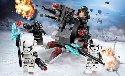 Alle Infos und Bilder zum LEGO Star Wars 75197 First Order Specialists Battle Pack