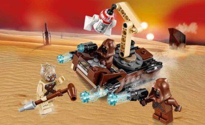 Alle Infos und Bilder zum LEGO Star Wars 75198 Tatooine Battle Pack