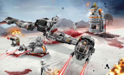 Alle Infos und Bilder zum LEGO Star Wars 75202 Defense of Crait