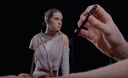 Unboxing-Video zur Sideshow Rey Premium Format Figure