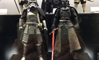 Fünf neue Tamashii Nations Star Wars Movie Realization Figuren ausgestellt