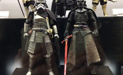 Fünf neue Tamashii Nations Star Wars Movie Realization Figuren ausgestellt
