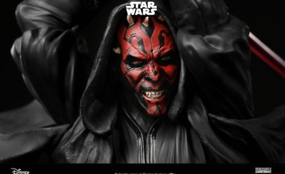 Erstes Unboxing-Video der XM Studios Darth Maul Statue!