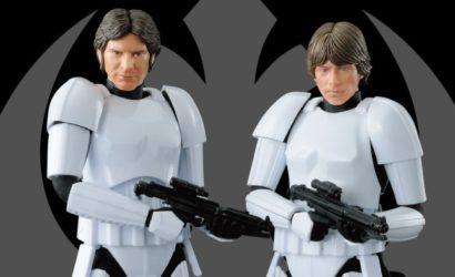 Han und Luke in Stormtrooper Disguise Model-Kits von Bandai veröffentlicht!