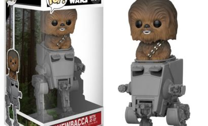 Neuer Funko POP! Chewbacca with AT-ST Deluxe Wackelkopf!