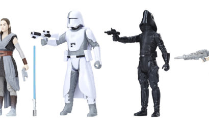 Neues Hasbro 3.75″ Battle on Crait 4-Pack