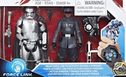 Neues Hasbro 3.75″ Finn vs Captain Phasma Force Link 2-Pack