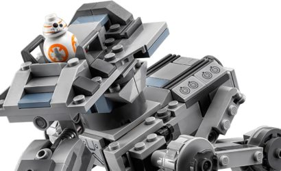Alle Informationen zum neuen LEGO Star Wars 75201 First Order AT-ST