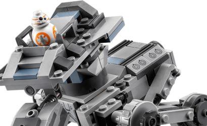 Alle Informationen zum neuen LEGO Star Wars 75201 First Order AT-ST